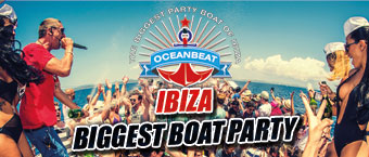 Oceanbeat biggest boat party